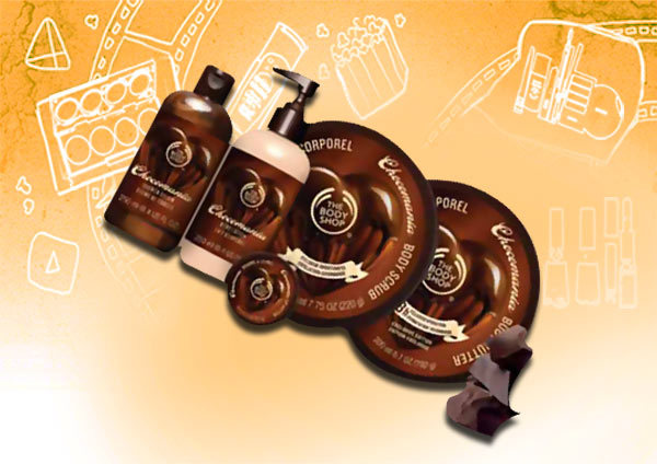 the body shop chocomania body scrub