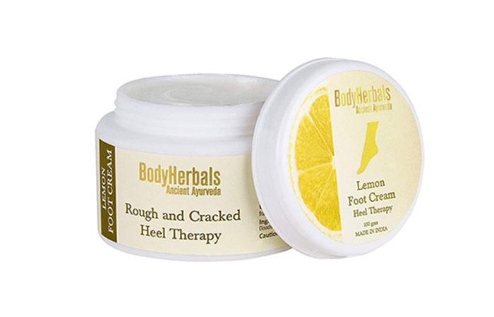 BodyHerbals Lemon Foot Cream