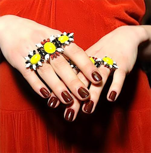 burgundy nail polish colors
