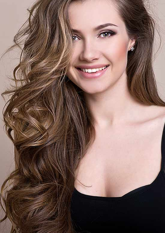 Latest Hairstyles For Long Hair - Cascading Hair Pinit