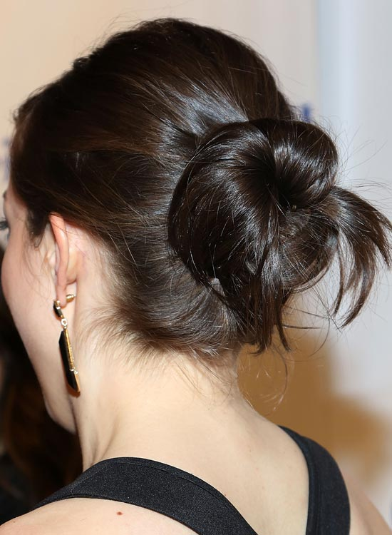 Casual-Twisted-Bun-with-Puffy-Crown