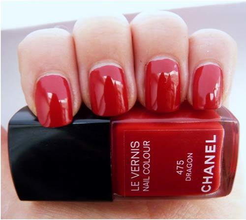 chanel dragon nail polish swatch