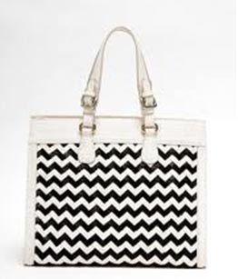 chevron design bag