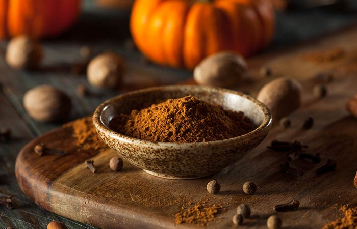 DIY Pumpkin Spice Face Mask