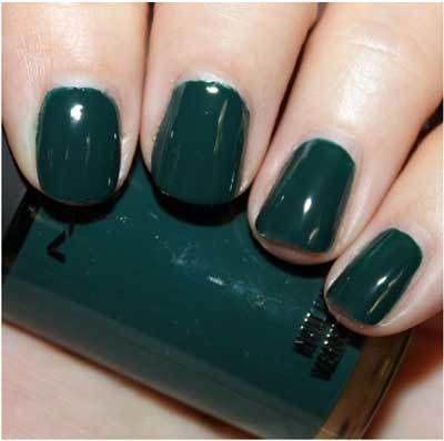 Deep sea nail colour