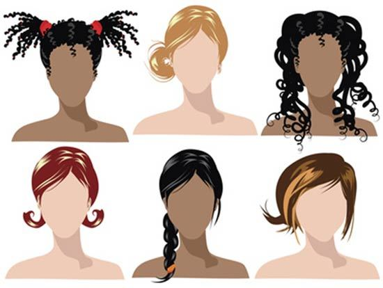 Different Hair Types