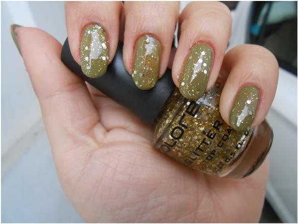 Disco gold Nail Polish