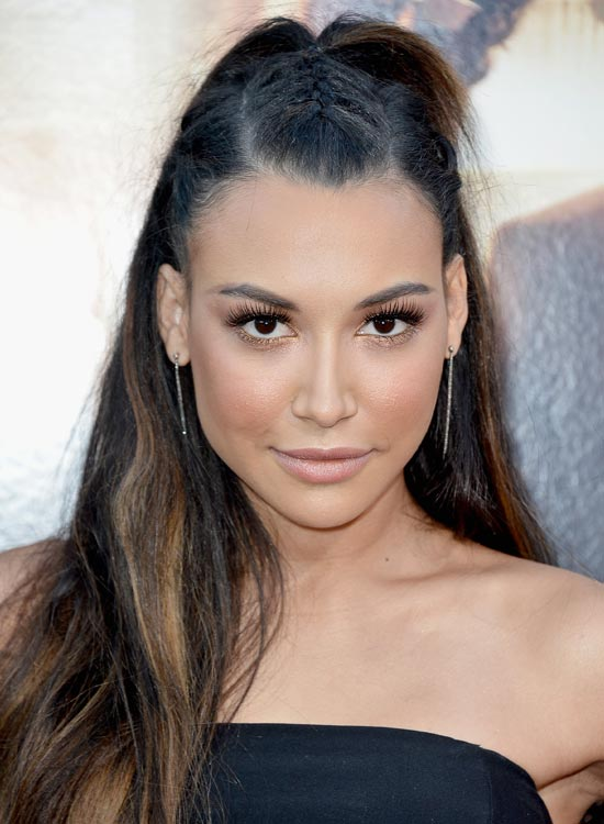 Double-Parted-Braided-Hairdo-with-Highlighted-Waves