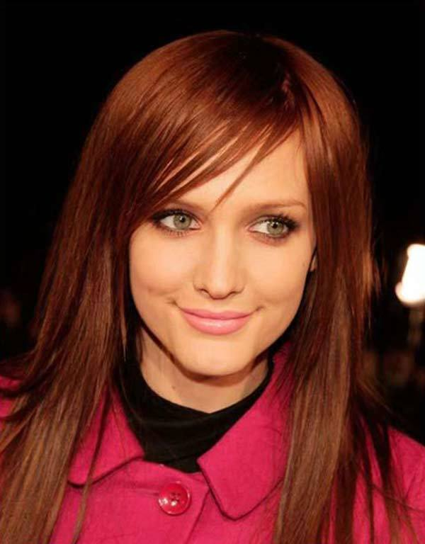 hair color for fair skin and dark brown eyes