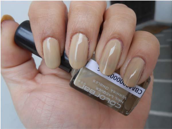 Flirty pink nail polish