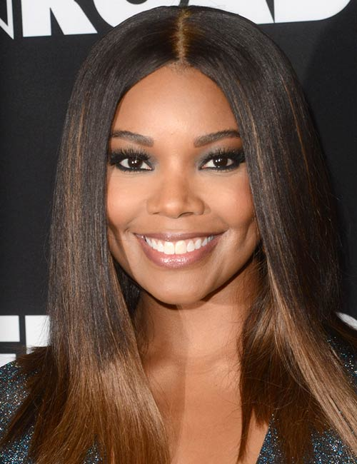 Gabrielle Union – Straight Hair Never Looked Better
