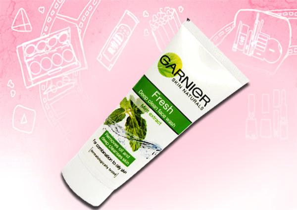 garnier skin naturals fresh deep clean face wash