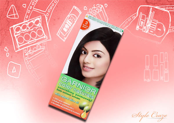 garnier hair color india