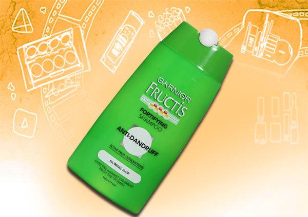garnier fructis fortifying anti-dandruff shampoo