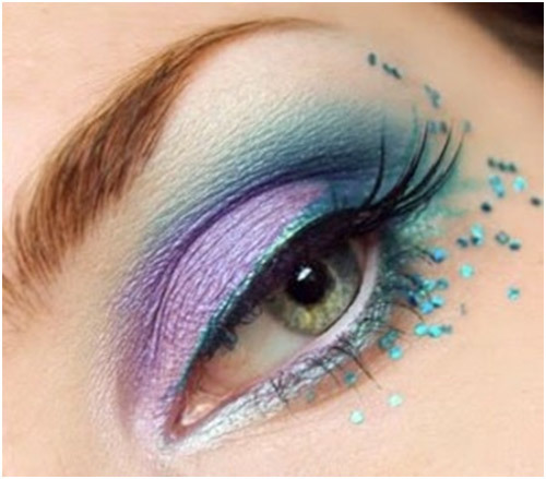 glitter eye makeup looks