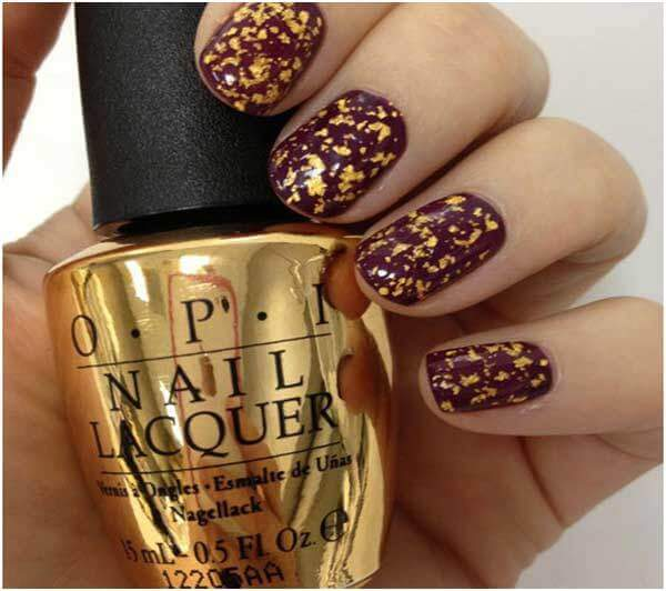 opi the man with the golden gun swatch