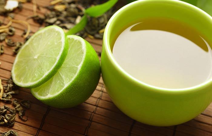Green Tea With Lemon/Lime