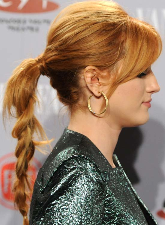 Hair-Wrapped-Braided-Pony-with-Puff-and-Bangs