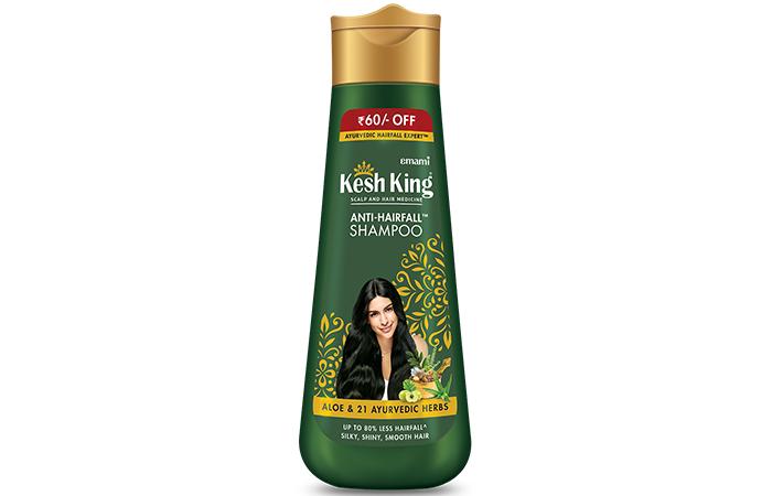 Hairfall Shampoo with aloe and 21 herbs