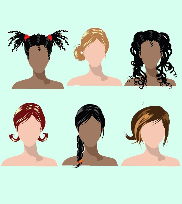 Hairstyles For Different Hair Types Hairstyles