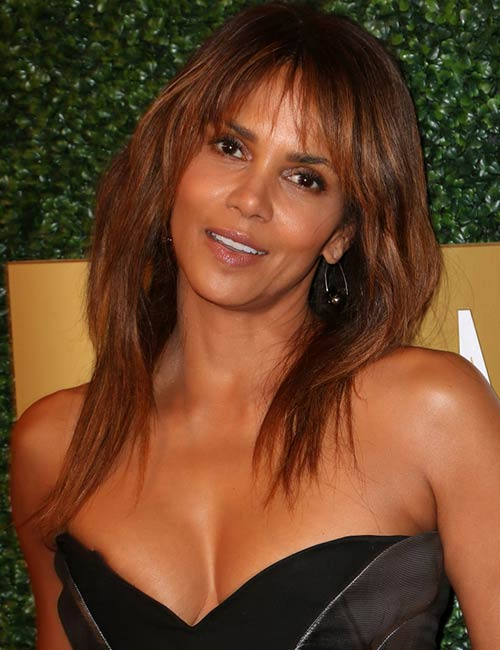 Halle Berry – Bangs It Is Then!