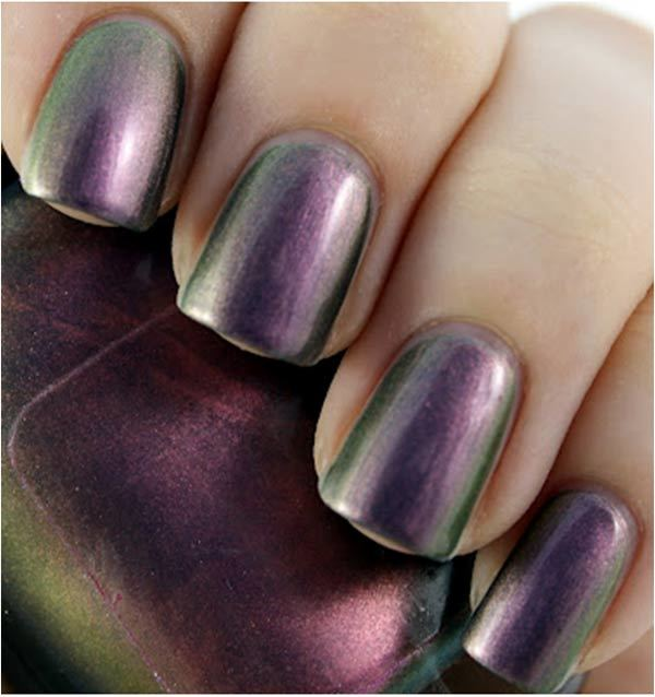 sally hansen emerald amethyst swatch