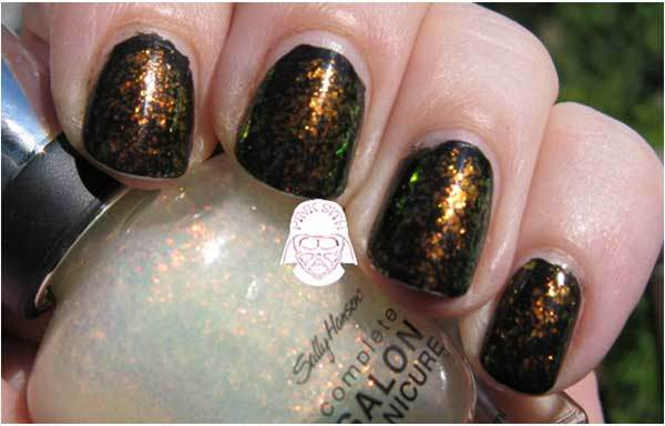 sally hansen hidden treasure swatch