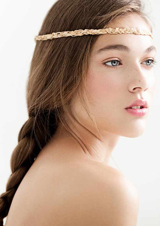 Headband-With-Braids hairstyle