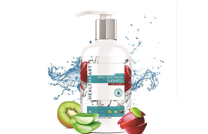 HealthKart Apple Cider Vinegar Shampoo - Anti-Hair Fall Shampoos
