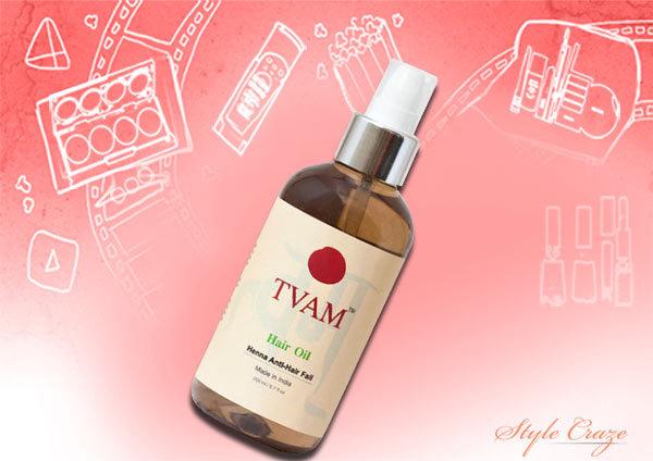 tvam henna hair fall oil