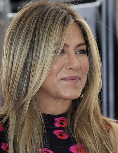 Jennifer Aniston (glattes Haar)