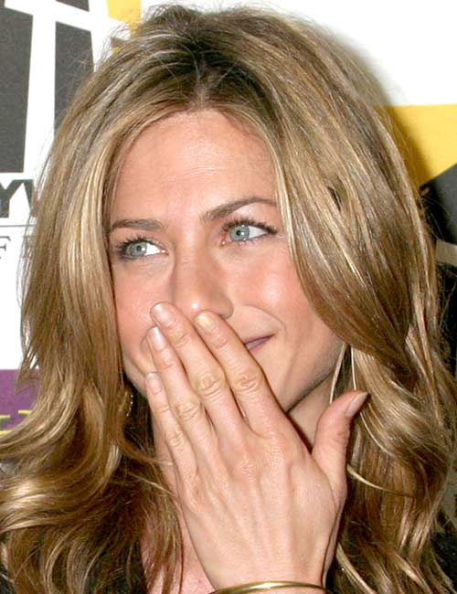 Jennifer Aniston (welliges Haar)