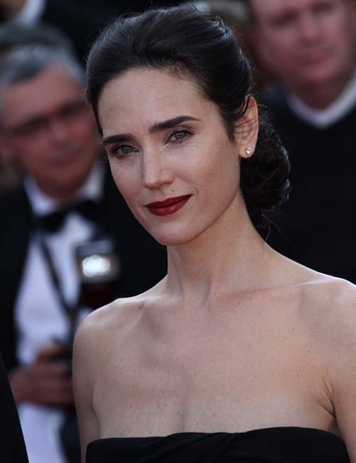 Jennifer Connelly – The Low Bun