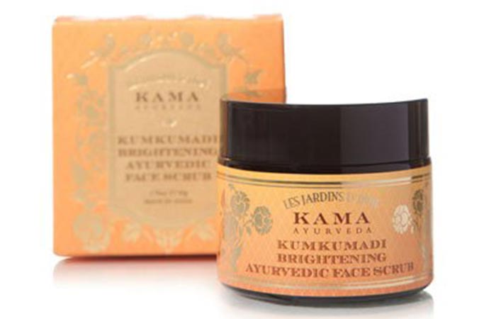 Kama Ayurveda Kumkumadi Brightening  - Scrubs To Get Rid Of Blackheads