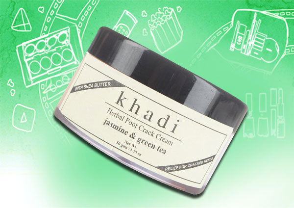 Khadi Herbal Foot Crack Cream Jasmine & Green Tea