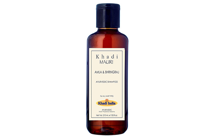 Khadi Mauri Amla And Bhringraj Shampoo - Anti-Hair Fall Shampoos