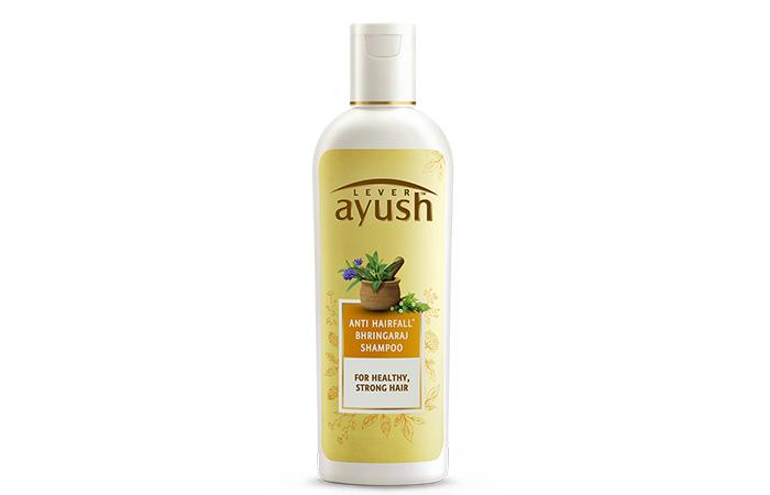 Lever Ayush Anti-Hair Fall Bhringraj Shampoo - Anti-Hair Fall Shampoos