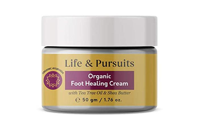 Life & Pursuits Organic Foot Healing Cream