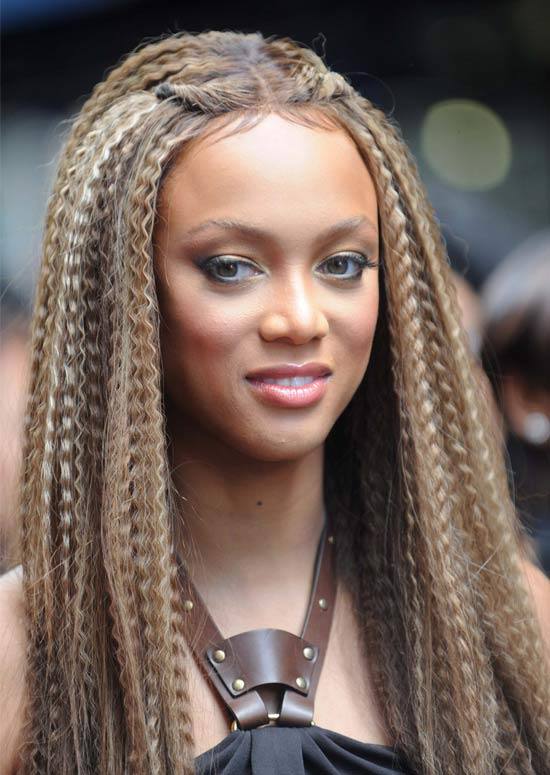 Latest Hairstyles For Long Hair - Long Crimped Hair