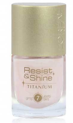 Loreal Rosy Pearl nail colour