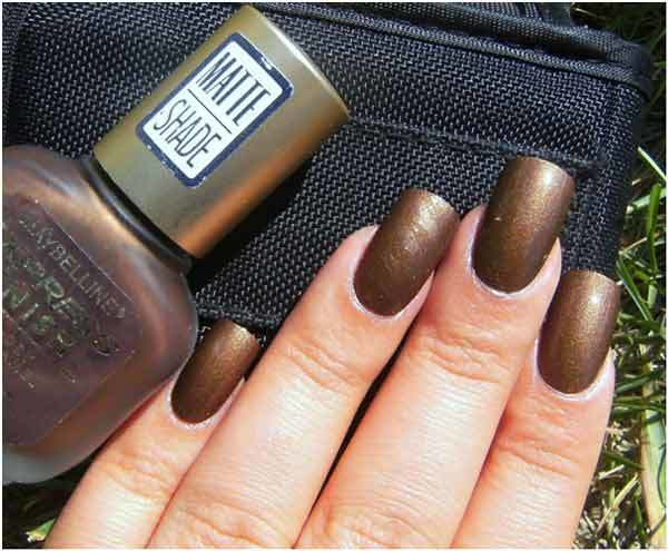 maybelline matte nail polish