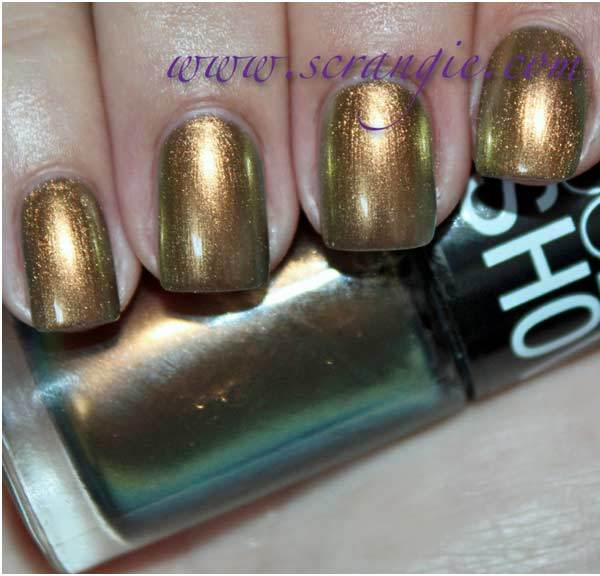 maybelline boho gold swatch