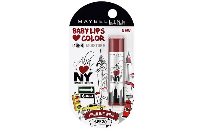 Maybelline New York Alia Loves New York Lip Balm