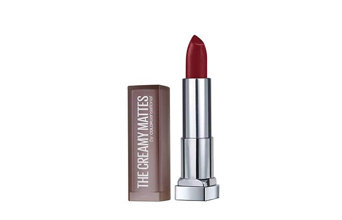 Maybelline New York Color Sensational Creamy Matte Lipstick in 695 Divine Wine