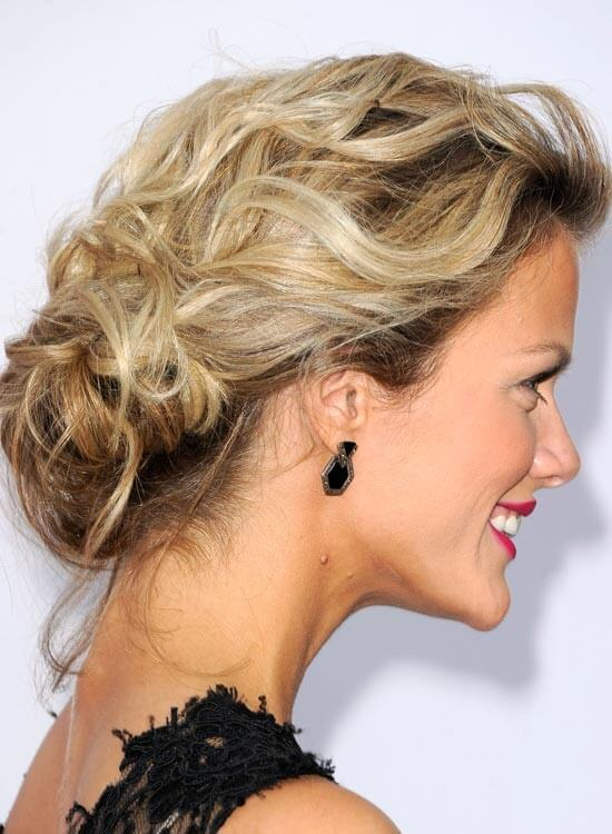 Messy-Low-Chignon