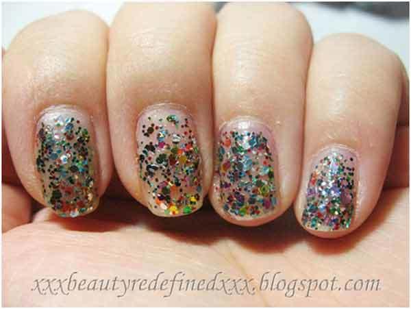 Nyx Multi Glitter Nail Polish Pinit