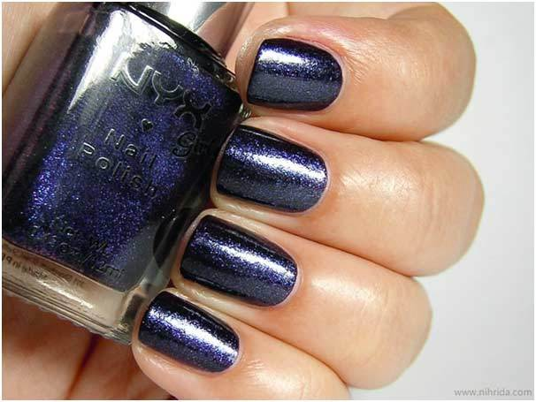 NYX Royal Purple for nails