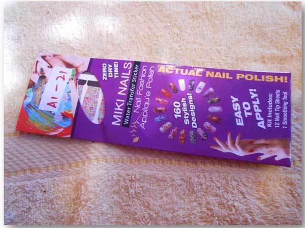 mickey nail stickers