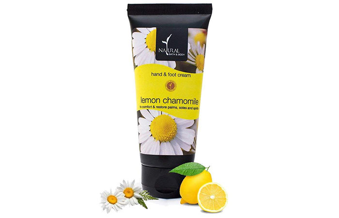 Natural Bath & Body Lemon