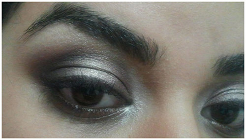 neutral smokey eye look